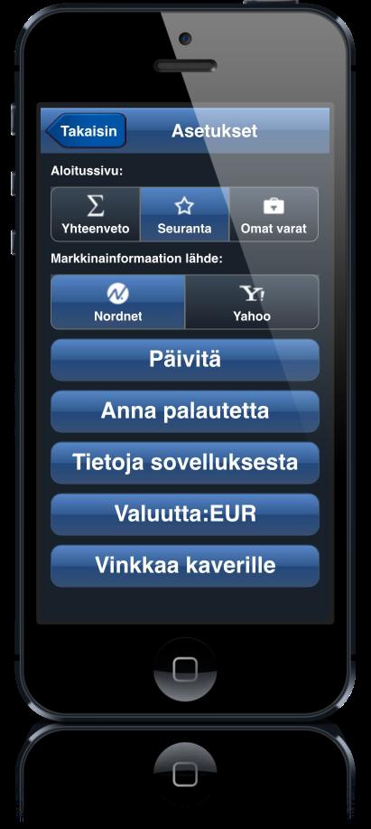 Portfolio_app_asset summary screen
