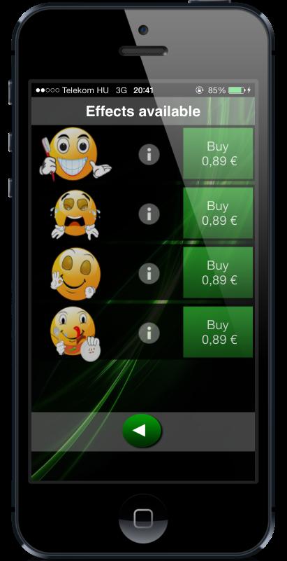Store screen of countdown timer HopHopClock