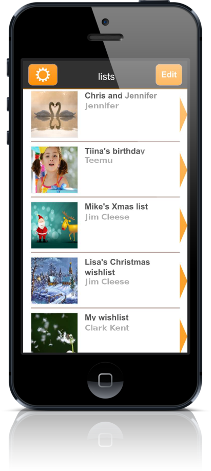 Wishlist App Wishsimply Wishlists Screen